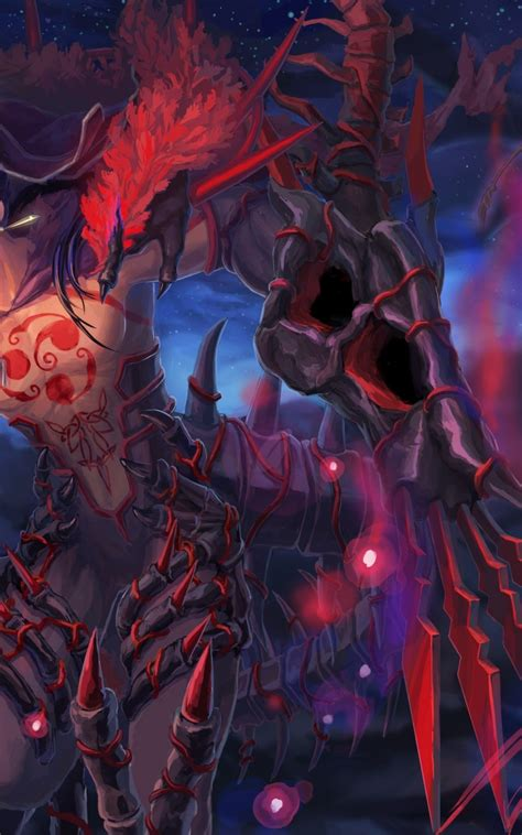 Anime Boy With Demon Wallpapers Wallpaper Cave