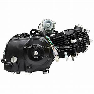 110cc 4 Stroke 3 Speed Auto With Reverse Engine Motor For