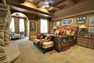 Master Bedroom Decor Ideas Master Bedroom Luxury Master Bedrooms In Rustic Style With Fireplace And Wall Regarding
