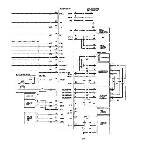 2006 Acura Rl Wiring Diagram by Acura Rl 2006 Wiring Diagrams Navigation System