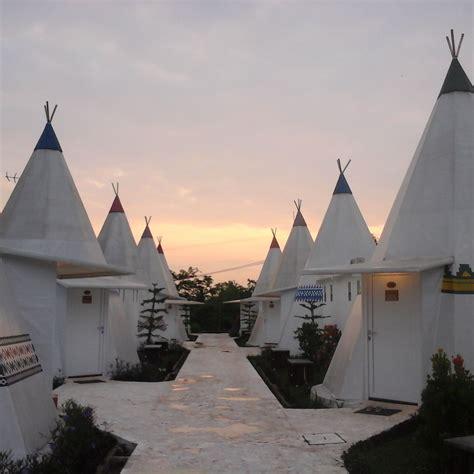 serunya menginap  highland park resort ala mongolia