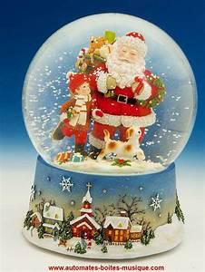 Boule De Neige Noel : boule neige musicale de no l avec m canisme musical ~ Zukunftsfamilie.com Idées de Décoration
