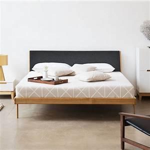 Günstige Betten 180x200 : die besten 25 bett eiche ideen auf pinterest eiche schlafzimmerm bel plattform bettrahmen ~ Indierocktalk.com Haus und Dekorationen