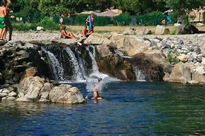 ardeche camping aan rivier With camping vallon pont d arc avec piscine 3 camping sud ardache 4 etoiles piscine couverte et