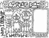 Career Coloring Melonheadz Community Helpers Guidance Counselor Teaching sketch template