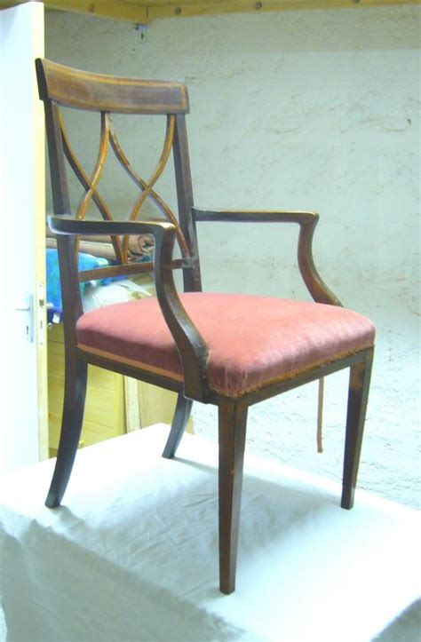 chaise anglaise restauration mobilier ancien chaise anglaise