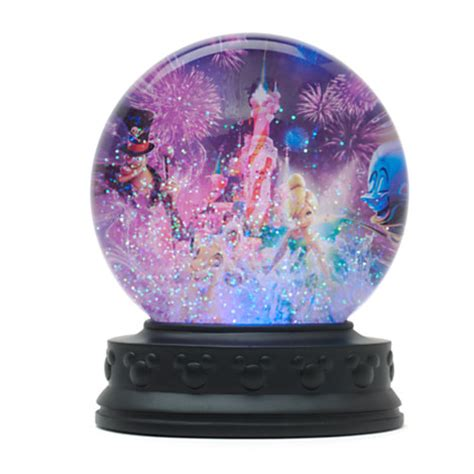 disneyland dreams light up snow globe snow globes