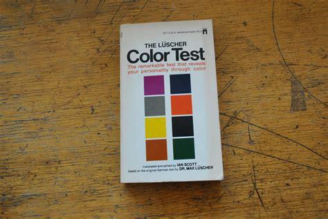 luscher color test the luscher color test kupindo 18701021