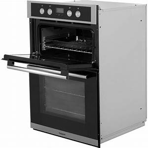 Hotpoint DD2844CBL Built-In 90cm Electric Double Oven ...