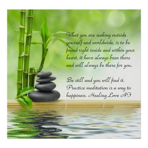 zen poster practice zazzle meditation posters morning perfect