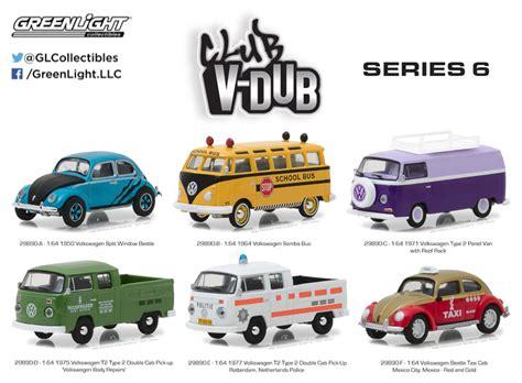 greenlight vdub series volkswagen t2 1 club v dub greenlight collectibles