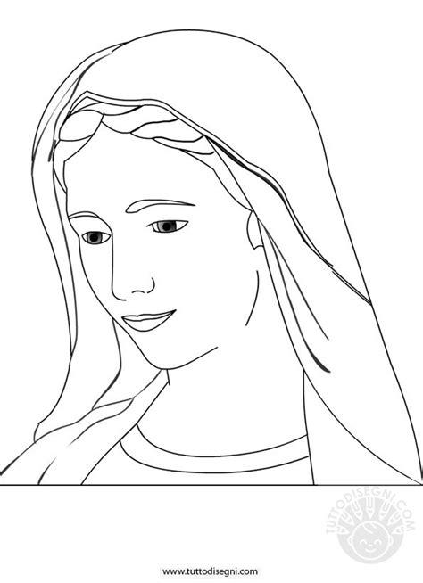 disegni madonna con bambino da colorare disegno madonna da colorare tuttodisegni