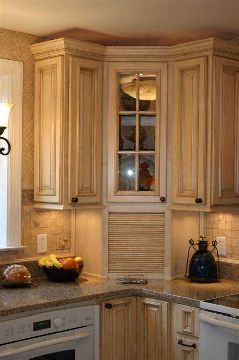 corner kitchen cabinet ideas built in bread box green house kitchen pinterest
