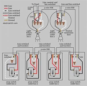 4 Way Switches Wiring Diagram Switch Pdf