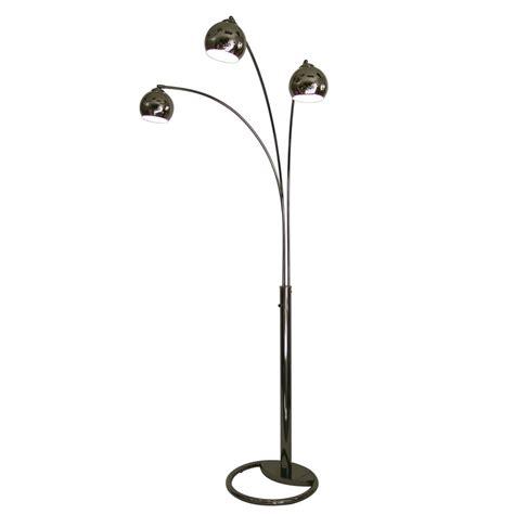 multi light floor l shop nova lighting 83 in black nickel multi head floor