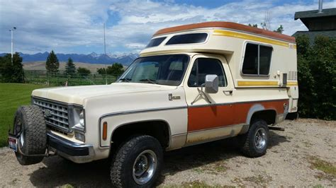 Blazer Chalet For Sale by Factory Equipped 1976 Chevrolet Blazer Chalet Cer