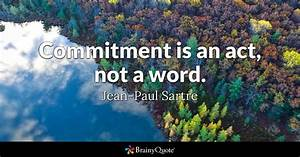 Jean-Paul Sartr... Commitment Quotes
