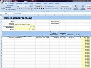 Abrechnung Fahrtkosten Formular : reisekostenabrechnung ~ Themetempest.com Abrechnung