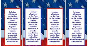 Cbp Pay Chart 3 6 Free Resources Pledge Of Allegiance Bookmark Freebie