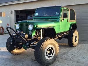 Jeep Cj7 Custom Built Rock Crawler For Sale  Photos
