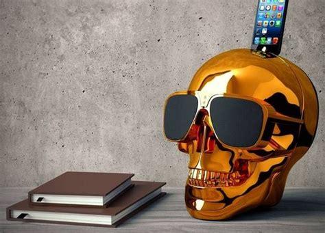 chromatic skull speakers skull speaker