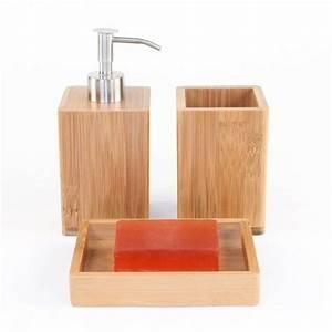 Bois Pour Salle De Bain : jolie salle de bain accessoires ~ Melissatoandfro.com Idées de Décoration