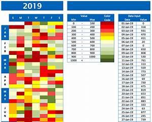 Calendar Chart  U00bb Exceltemplate Net