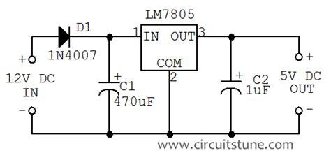 12 Volt Dc Wiring Diagram by 5vdc To 12vdc Converter Circuit Diagram Circuit Diagram