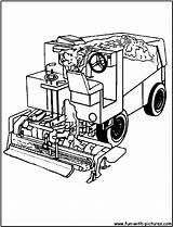 Coloring Pages Truck Garbage Zamboni Printable Colouring Sheets Hockey Trucks Mom Popular Drawing Boys Machine Coloringhome sketch template