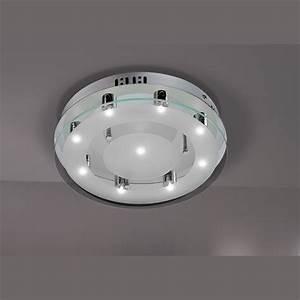 Led Deckenlampe Rund : runde led deckenlampe in zeitlosem design size 1 ~ Whattoseeinmadrid.com Haus und Dekorationen