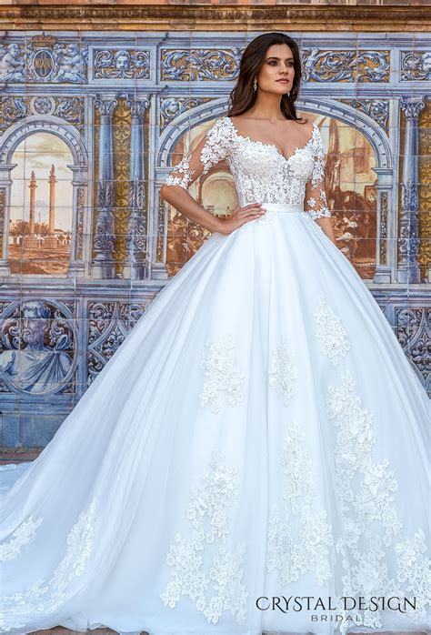 Beautiful Wedding Dresses From The 2017 Crystal Design