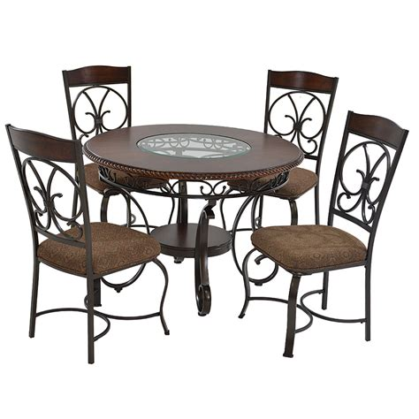 casual kitchen table and chair glambrey 5 casual dining set el dorado furniture