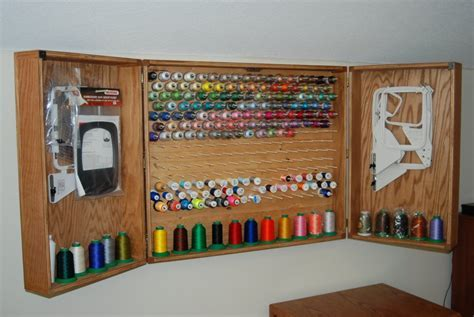 Sewing Thread Cabinet