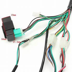Ignition Wiring Harness Kit Solenoid Rectifier Cdi 50