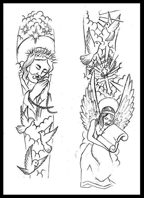 Pin on Jesus Half Sleeve Tattoos For Men Drawings