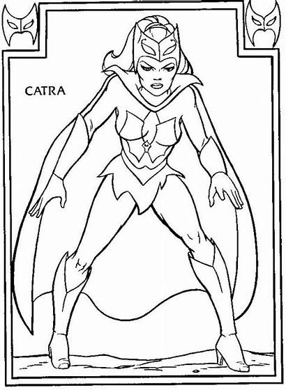 Coloring Pages Ra She Catra Adult Pop