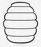 Beehive Coloring Clipart Pinclipart sketch template