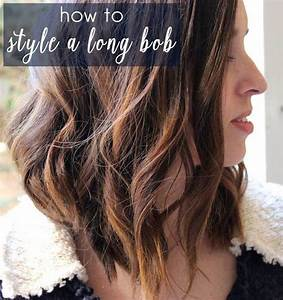 How To Style A Long Bob Video Long Bob Bobs And Blog