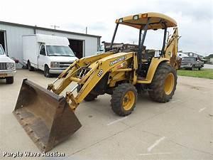 John Deere 110 Tlb Attachments Cab Enclosure 2005 Tractor