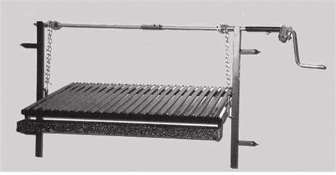 grille de barbecue kit de la grille standard 2a 105cm x 60cm barbecues argentins