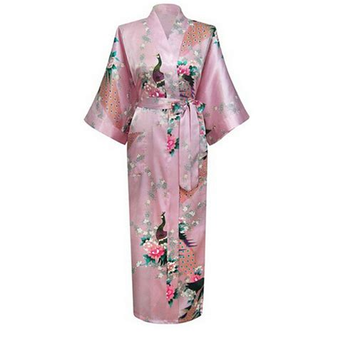 robe de chambre kimono get cheap satin robe aliexpress com