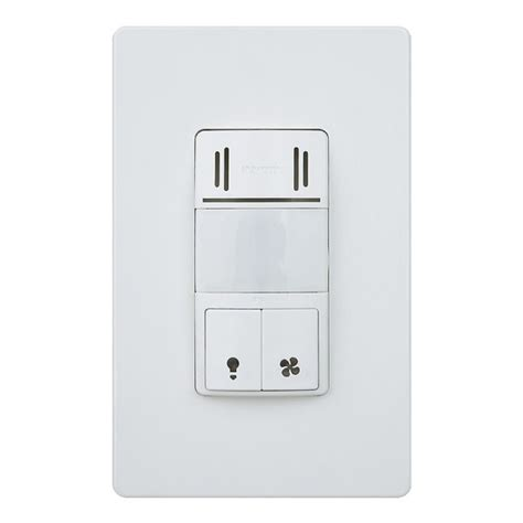 Humidity Sensing Bathroom Fan Switch by Dual Tech Humidity Sensor Light Switch For Bathroom Fans