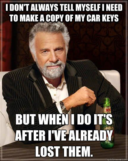 Car Keys Meme - los angeles locksmith s blog