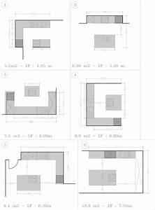 plan cuisine avec ilot central cuisine en image With plan de cuisine avec ilot