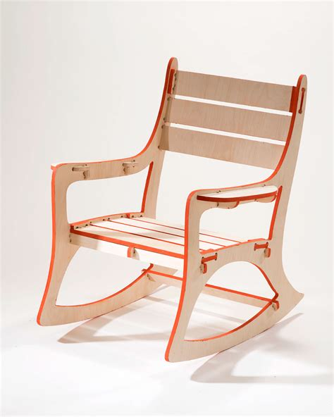cnc rocking chair  risd portfolios