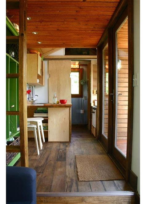 rustic modern tiny house  tall people tiny house