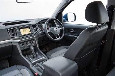 volkswagen pickup interior 2017 vw amarok gets a facelift new v6 diesel but is