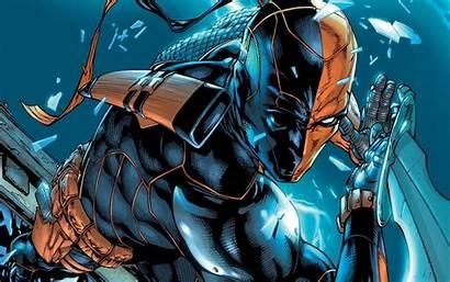 Deathstroke Dc Comics Marvel Wallpapers Artwork Espada