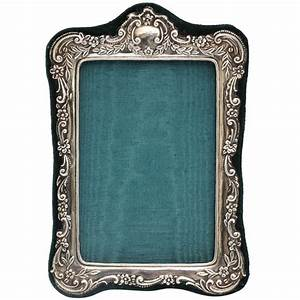 Sterling Silver Victorian Picture Frame at 1stdibs