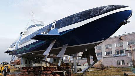 russia floats  karakurt class littoral combat ship rt